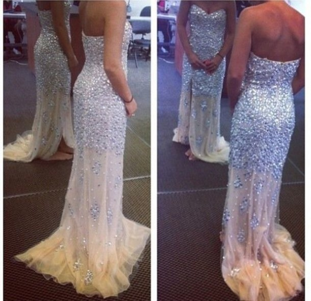 Custom Made Long Prom Dresses ,Evening Dresses, Long Party Dresses ...