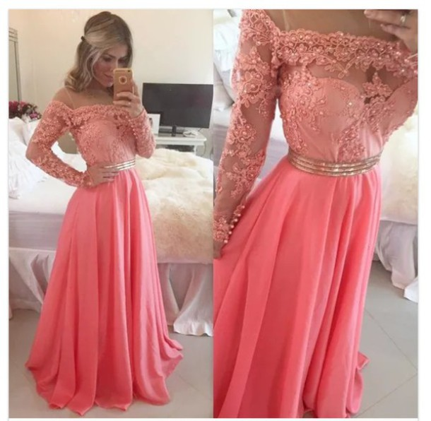 Custom Made 2015 Sexy Long Prom Dresses ,Women Evening Dresses,Lace ...